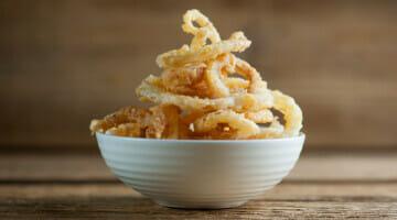 Sweet onion rings