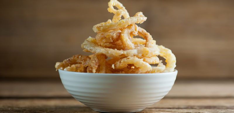 Sweet Cornmeal Onion Rings