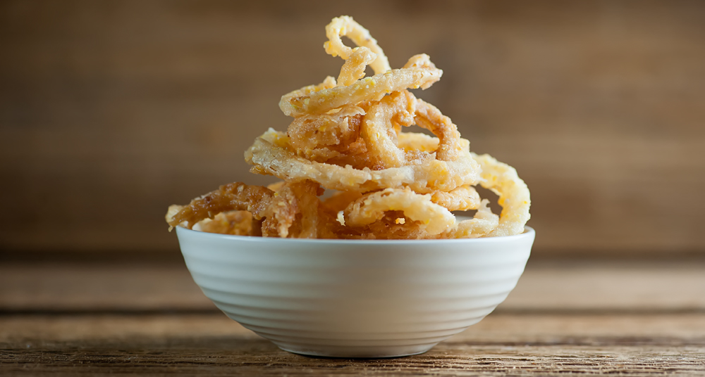 Sweet onion rings