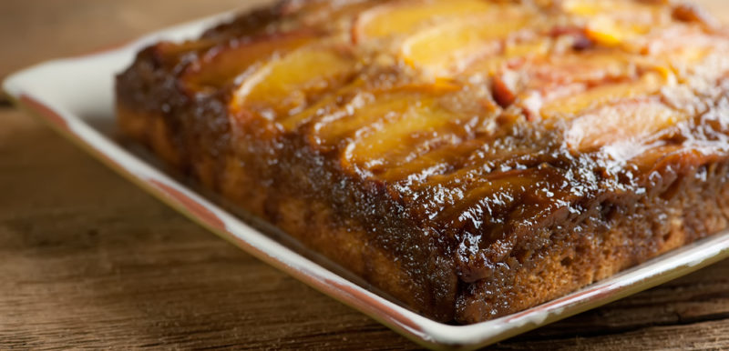 Peach Upside Down Cake