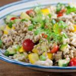 Chicken Barley Salad