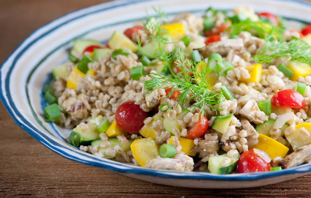 Chicken Barley Salad
