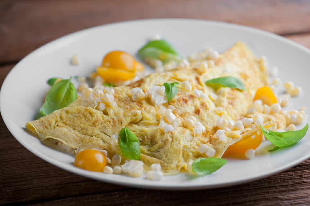 farmers market omelet