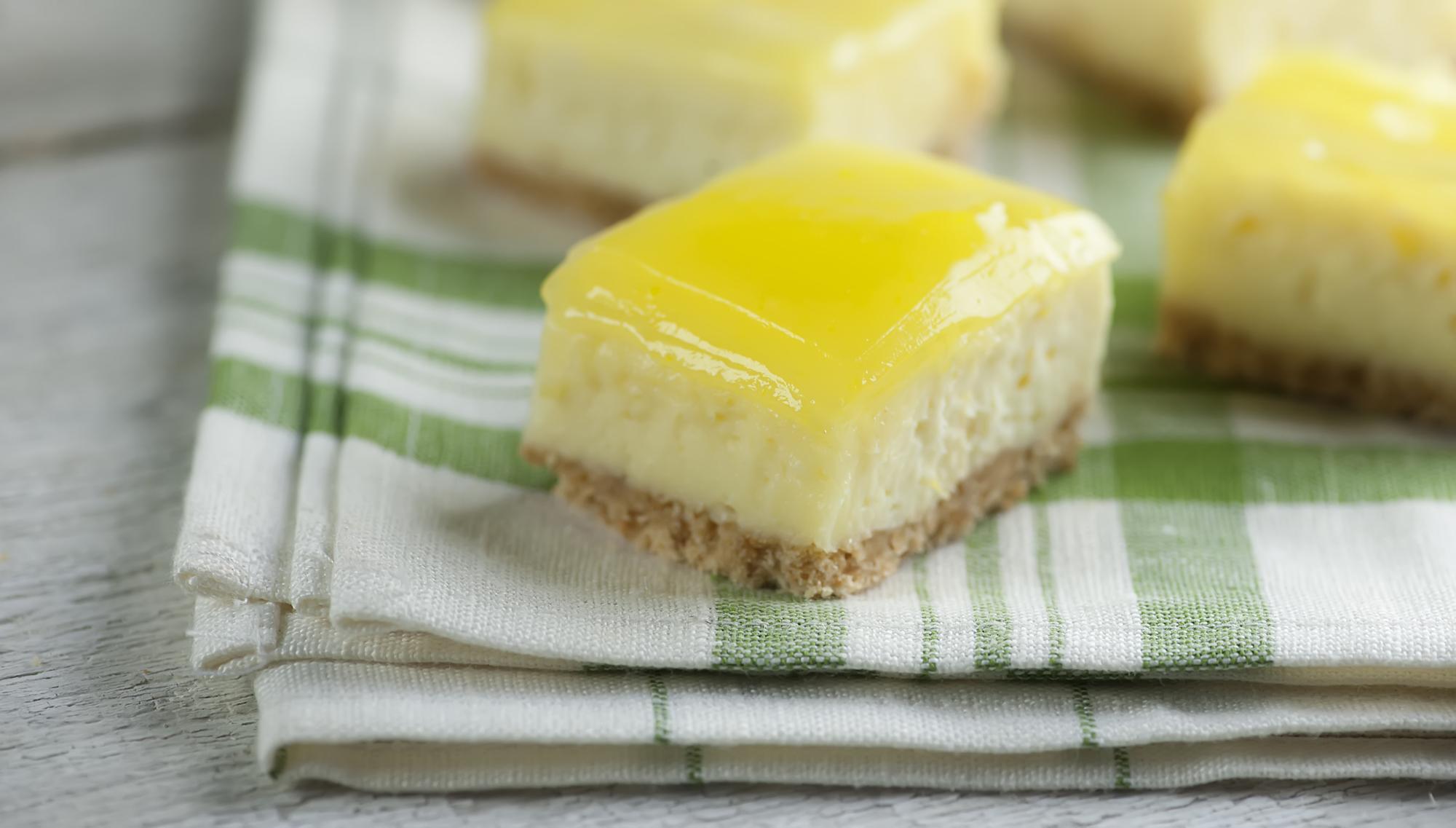 lemon cheesecake bites