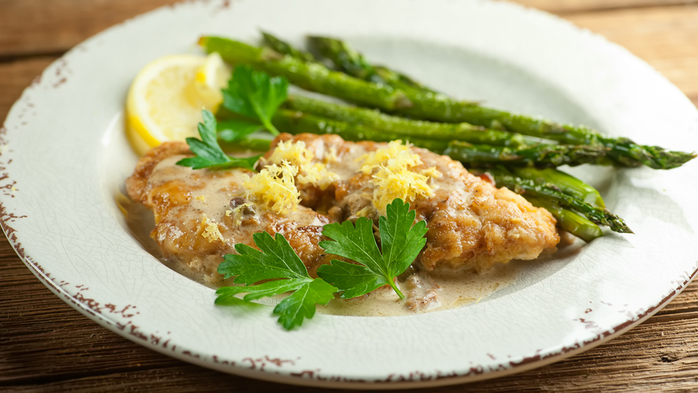 Easy Creamy Chicken Piccata Framed Cooks