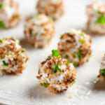 easy goat cheese truffles