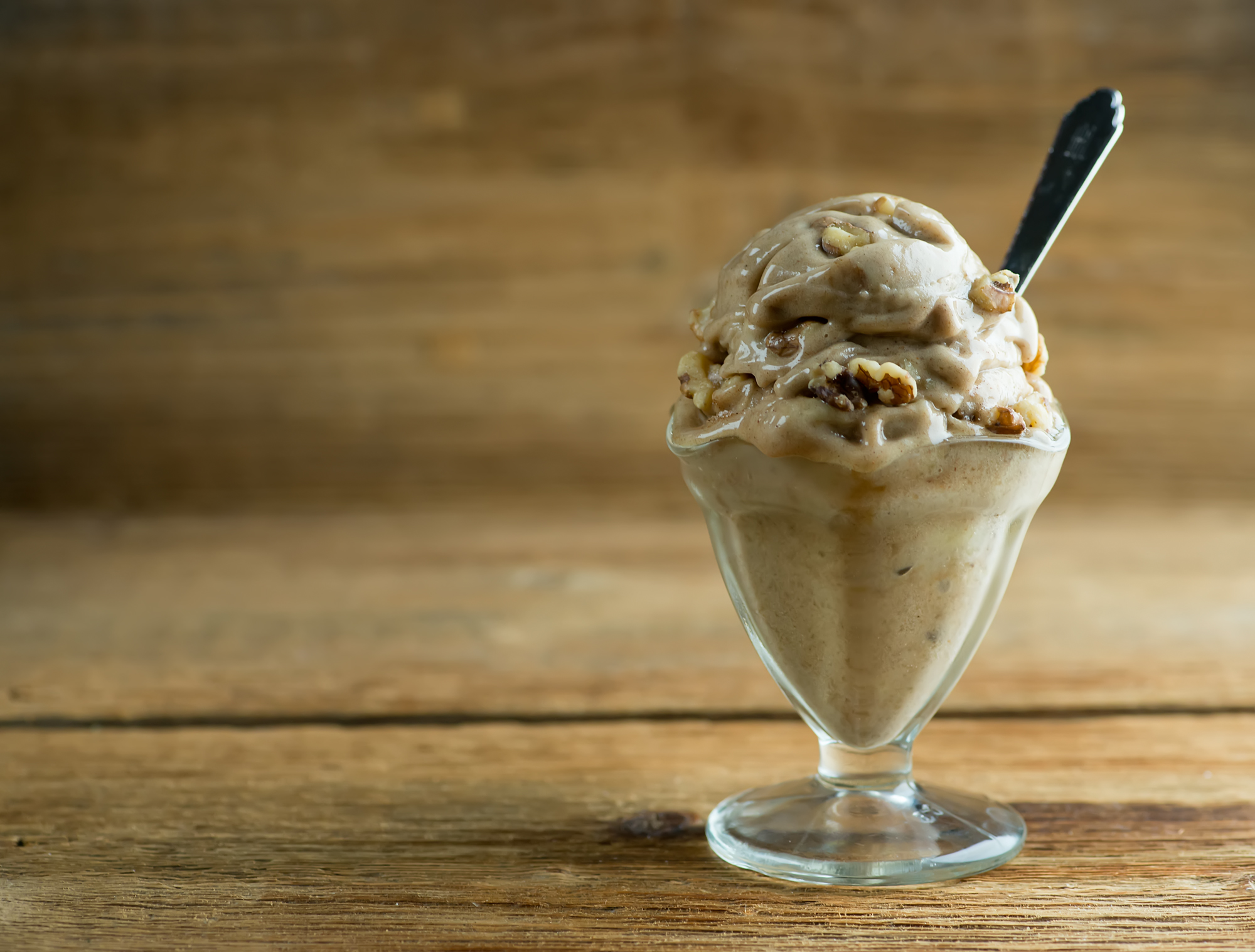 easy banana bread ice cream