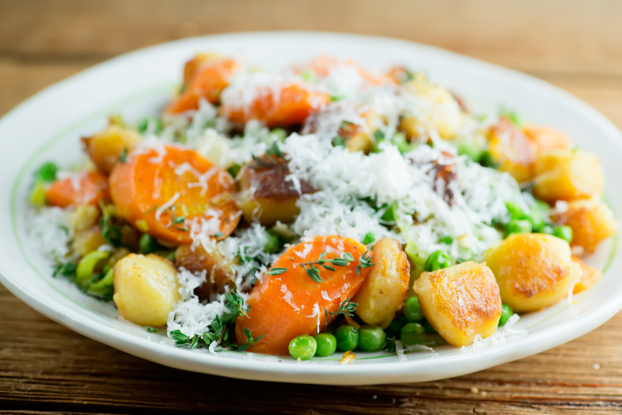 gnocchi with vegetables
