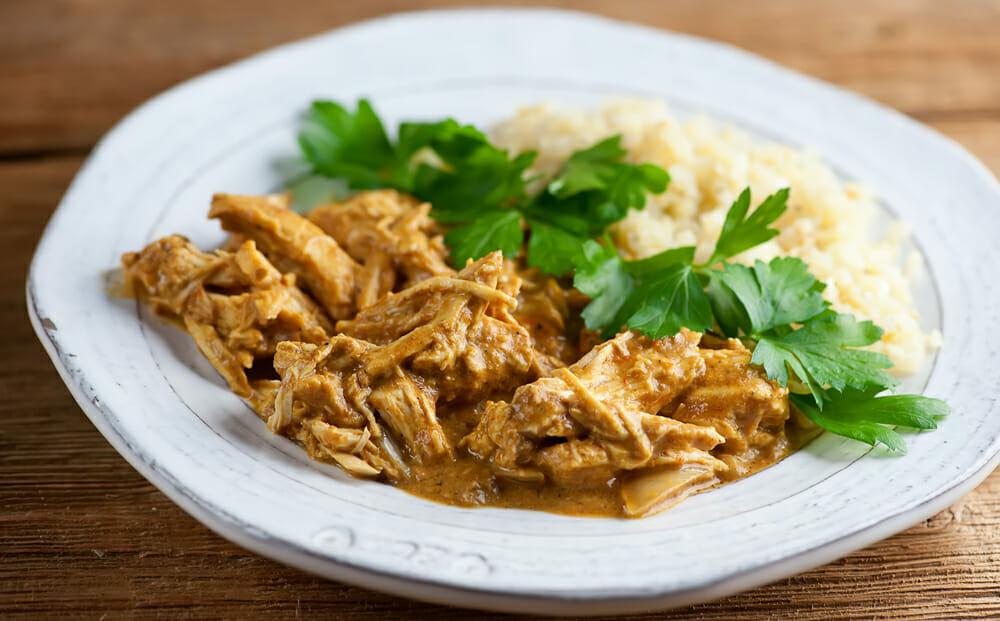 slow cooker butter chicken recipe