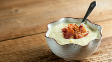 how to make bacon corn chowder