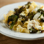 easy sheet pan broccoli ricotta supper