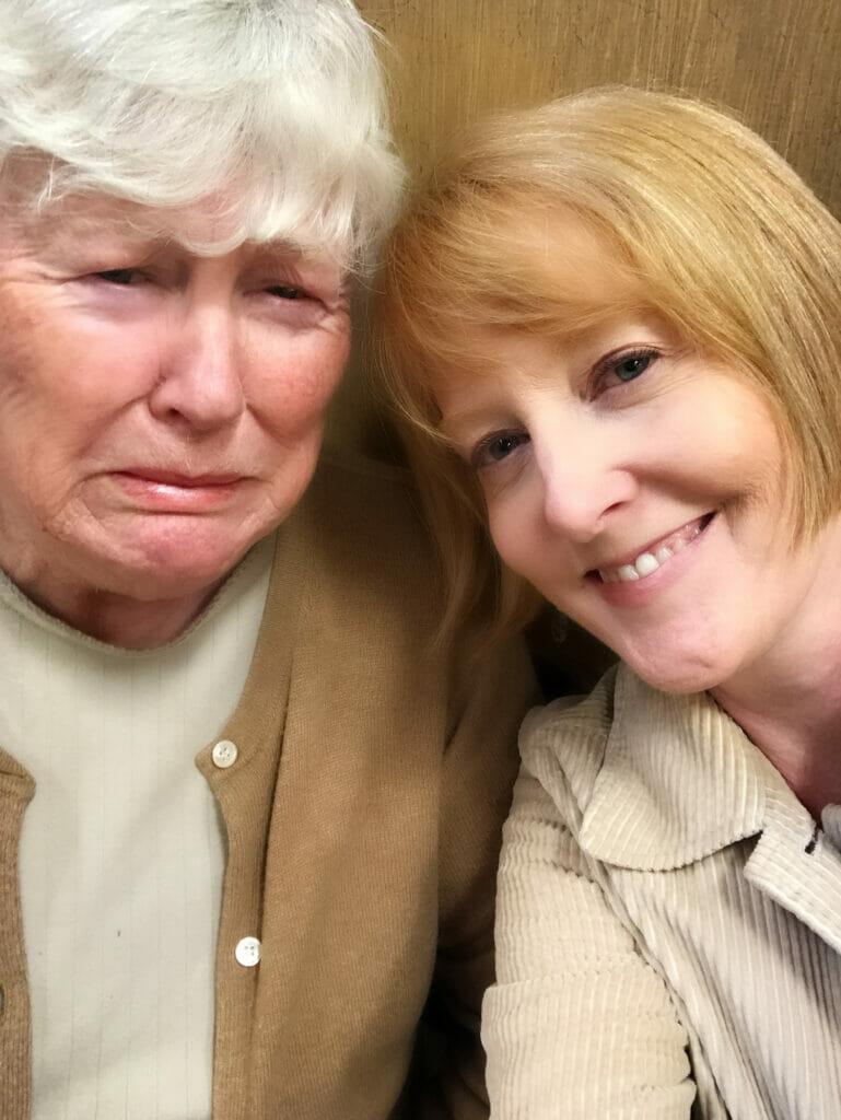 mother daughter flu shot