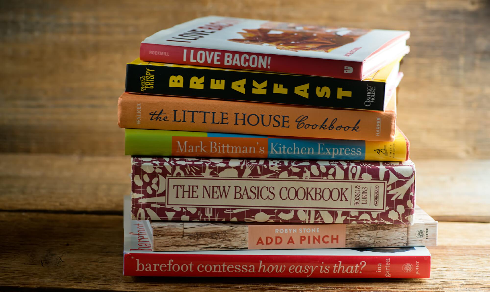 Framed Cooks Cookbooks