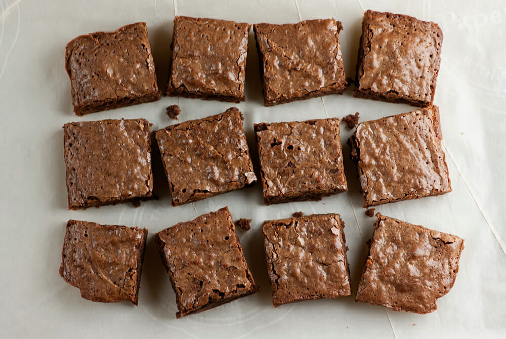 easy Chai spiced brownies