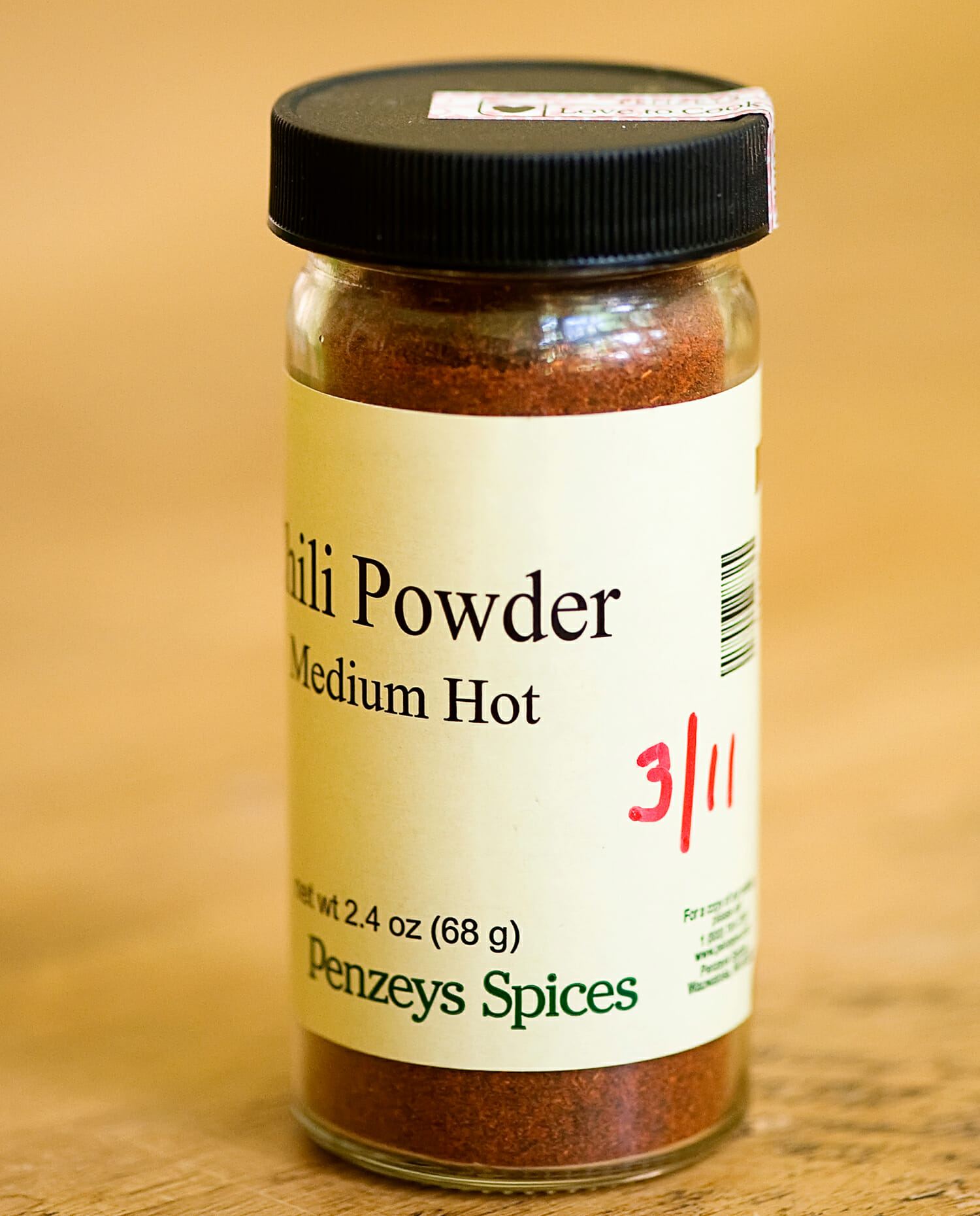 spice labeling