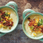 Easy Instant Pot Loaded Baked Potato Soup