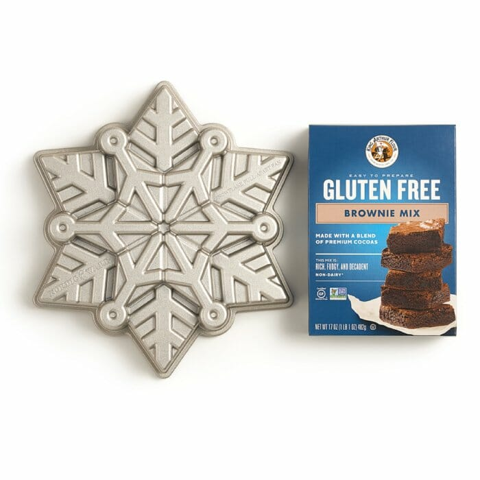 Gluten Free Brownie and Snowflake Set