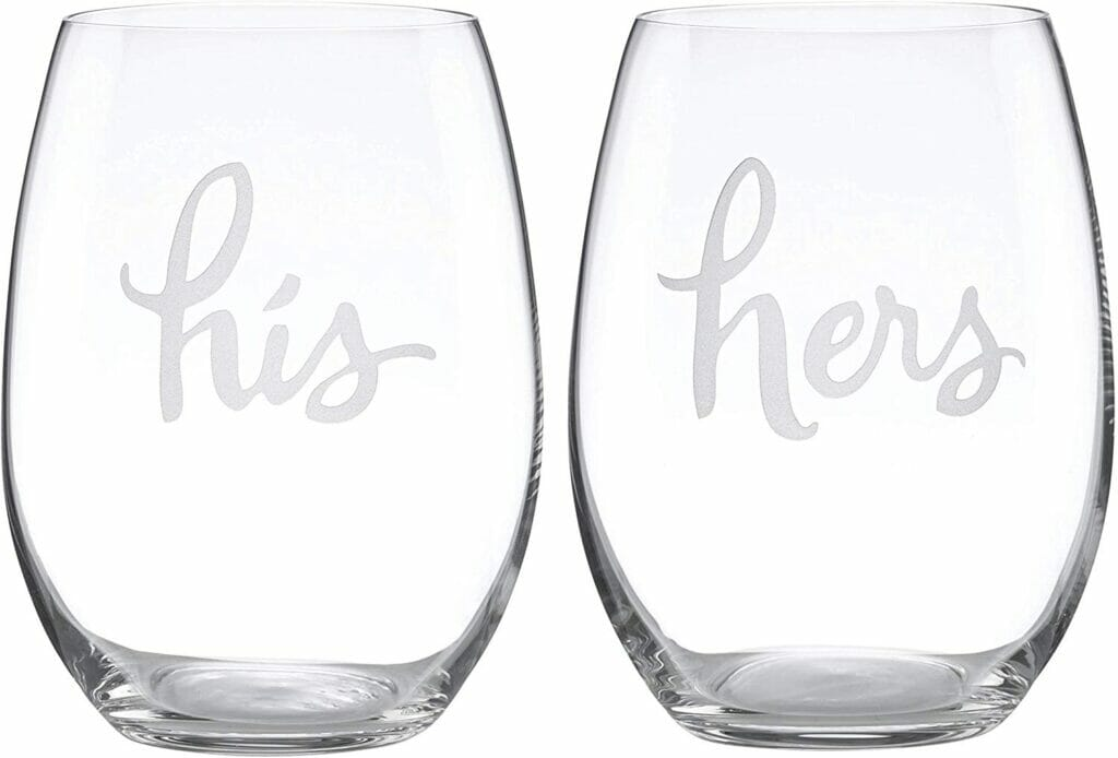 Kate Spade wine glasses