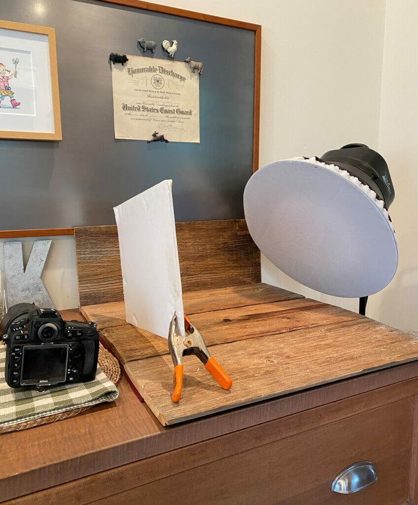 studio shooting area