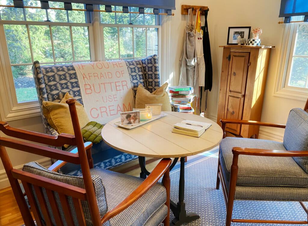 studio table area