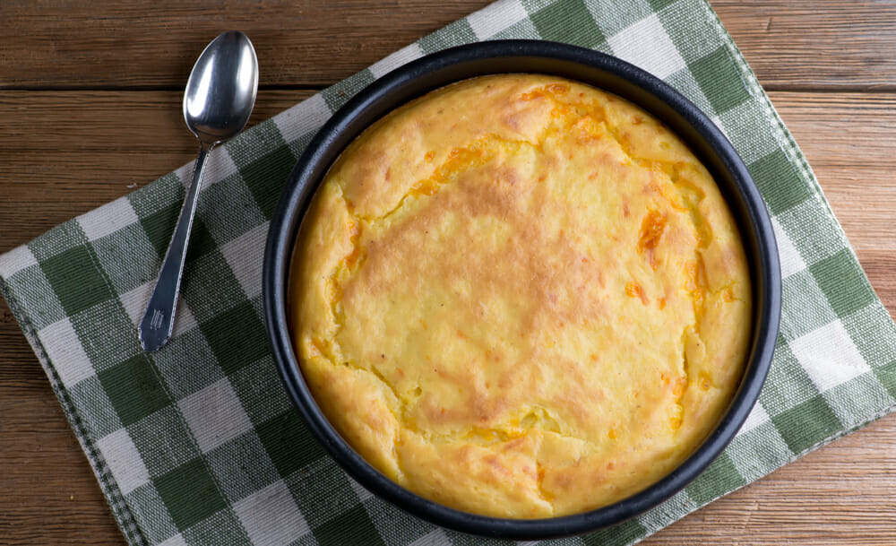 easy cheesy Southern spoonbread