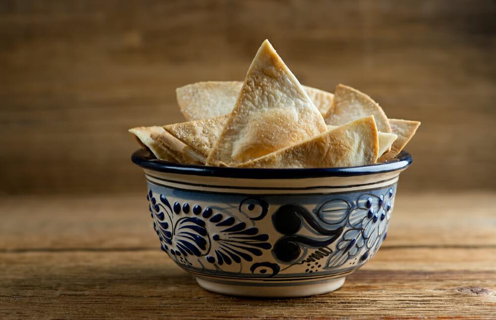 easy homemade tortilla chips