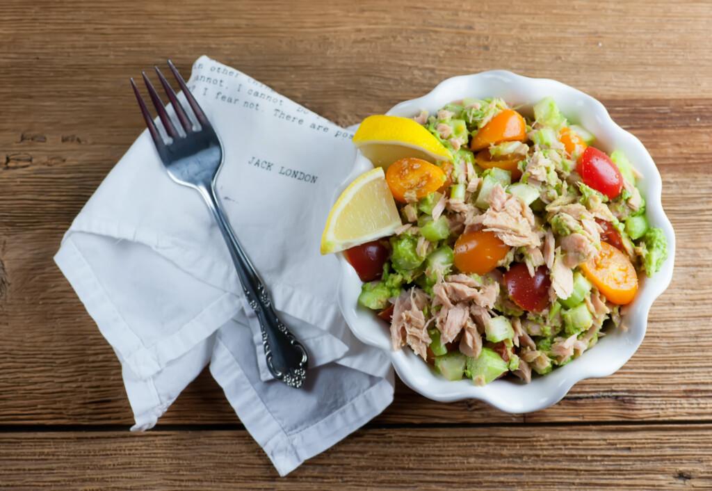 Guacamole Tuna Salad