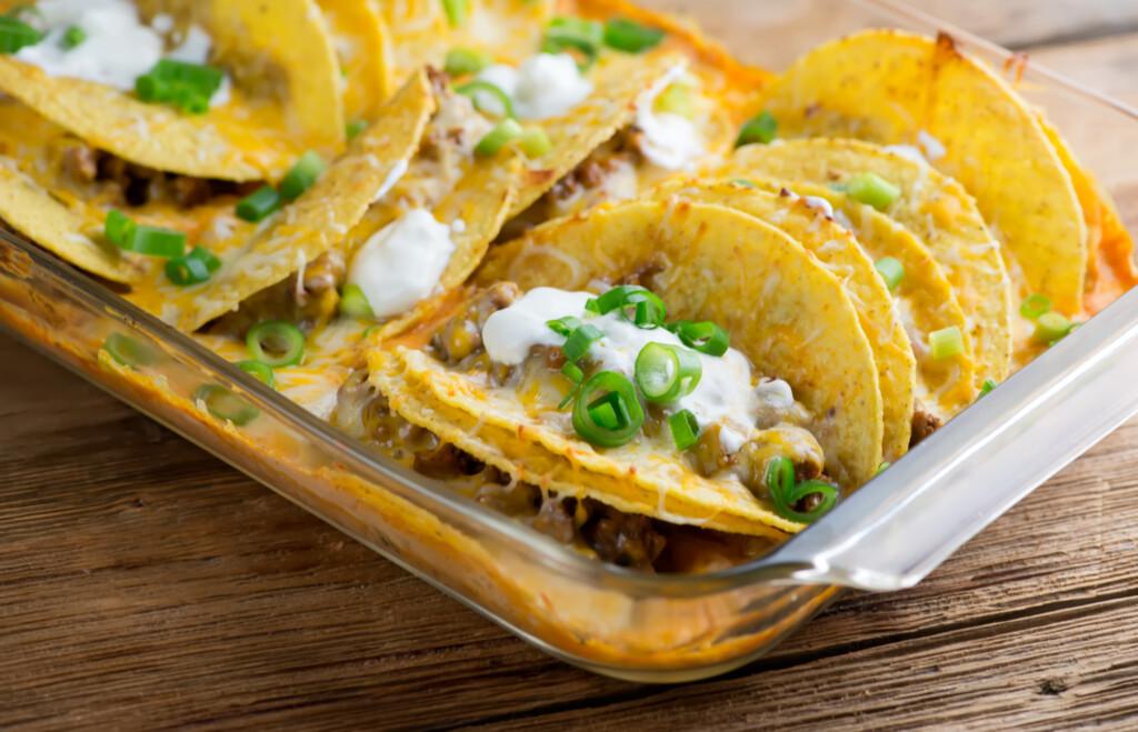 beef taco casserole