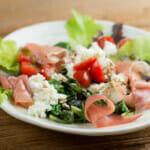 easy baby greens salad