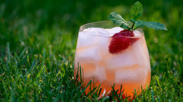 easy orange raspberry sangria