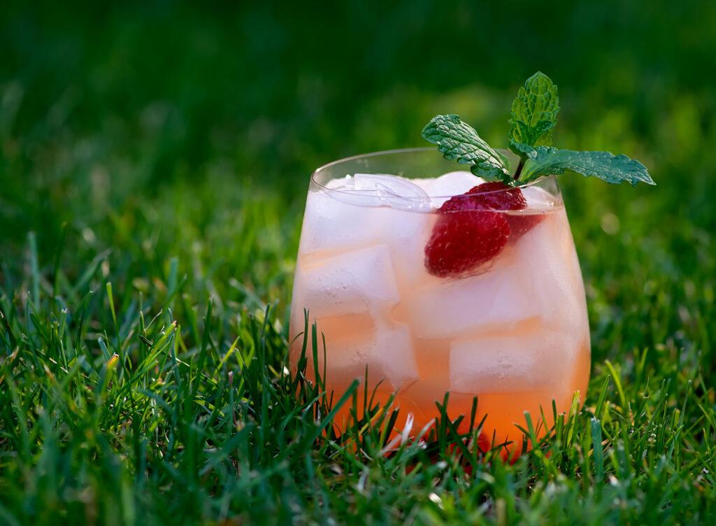 orange raspberry sangria