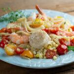 Easy Seashore Pasta