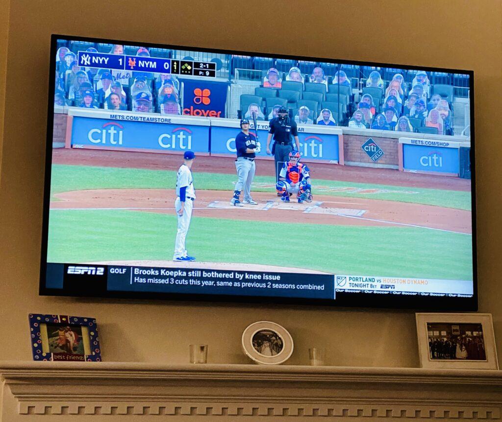 baseball game on tv