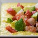 easy chilled corn and shrimp soup