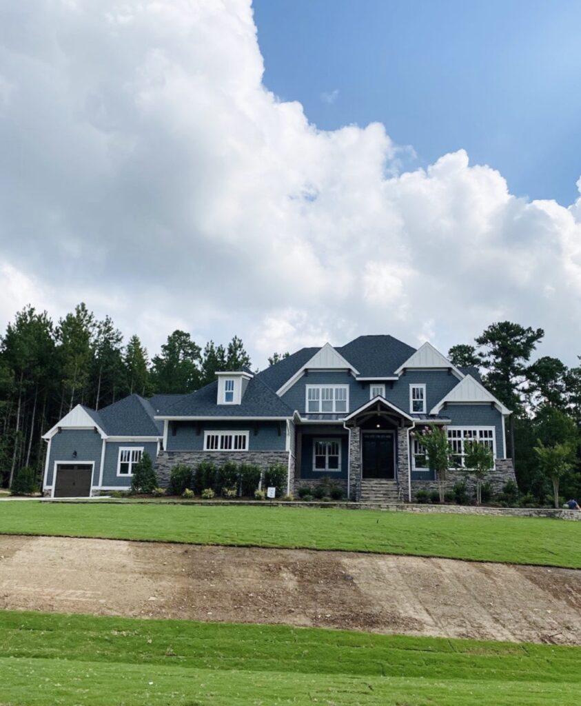 carolina dream house with grass