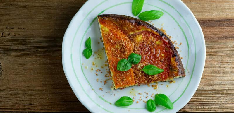 Easy Crustless Tomato and Ricotta Tart