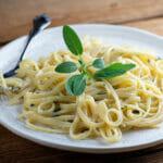 buttered sage pasta