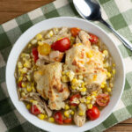 summertime chicken and biscuits