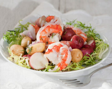shrimp and new potato salad recipe