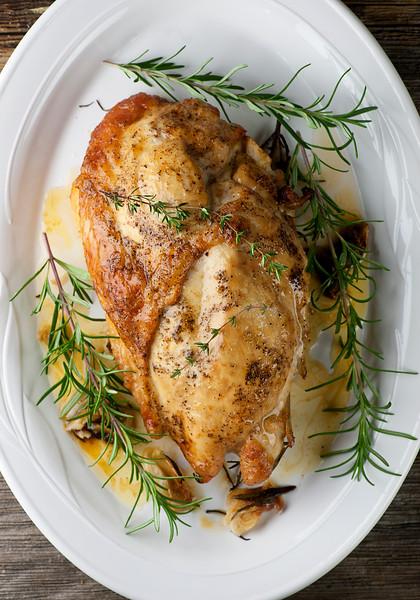 butter roasted turkey breast