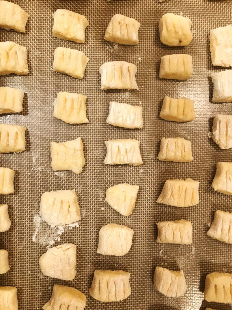 mashed potato Gnocchi