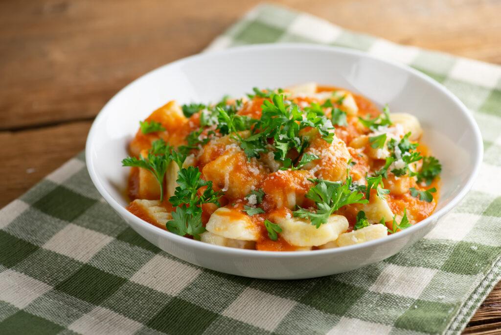 mashed potato Gnocch