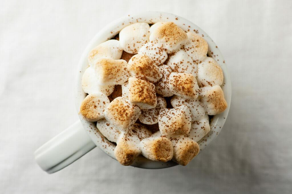 Baked Hot Chocolate Mugs