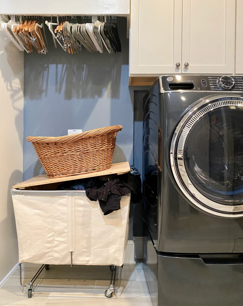 overflowing laundry
