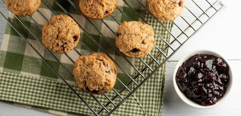 Cinnamon Raspberry Muffins