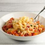 Pasta with Clam Marinara Sauce
