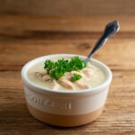 salmon vegetable bisque