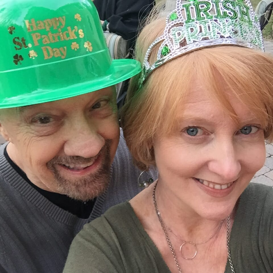 Irish couple