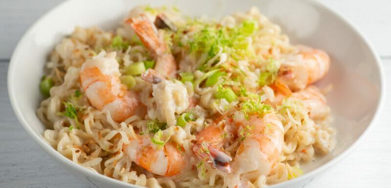 coconut shrimp ramen