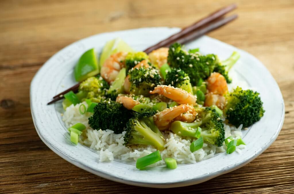 Honey Lime Shrimp and Broccoli